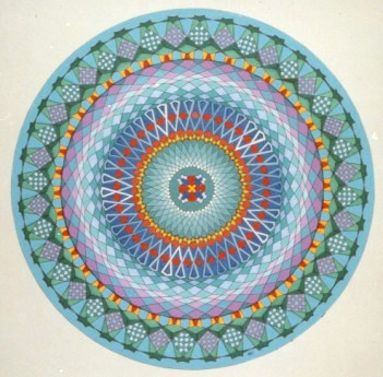 300 - Caleidoscope-series XIV - Arabic 55 - [60x60]